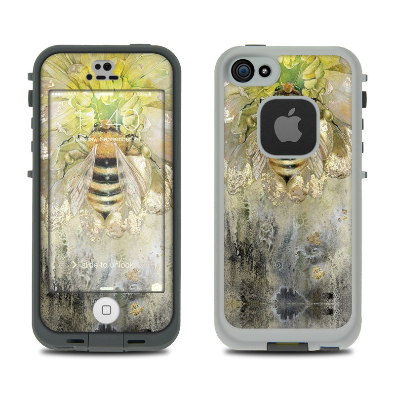 Honey Bee LifeProof iPhone SE, 5s fre Case Skin