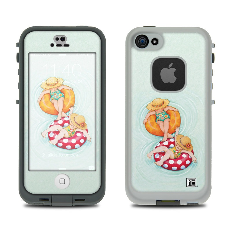 Inner Tube Girls LifeProof iPhone SE, 5s fre Case Skin