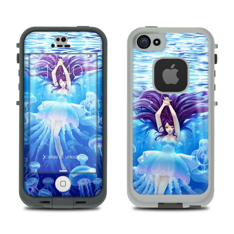 Jelly Girl LifeProof iPhone SE, 5s fre Case Skin