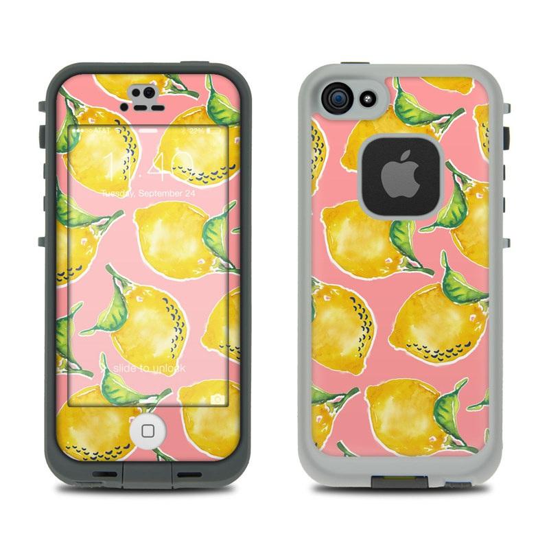 Lemon LifeProof iPhone SE, 5s fre Skin