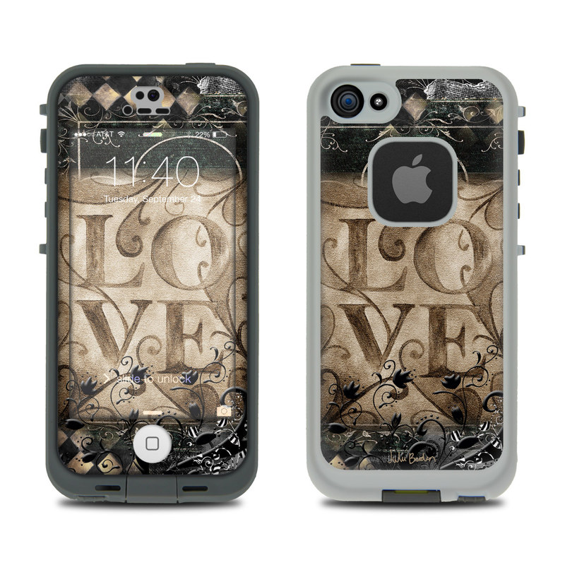 Love's Embrace LifeProof iPhone SE, 5s fre Skin