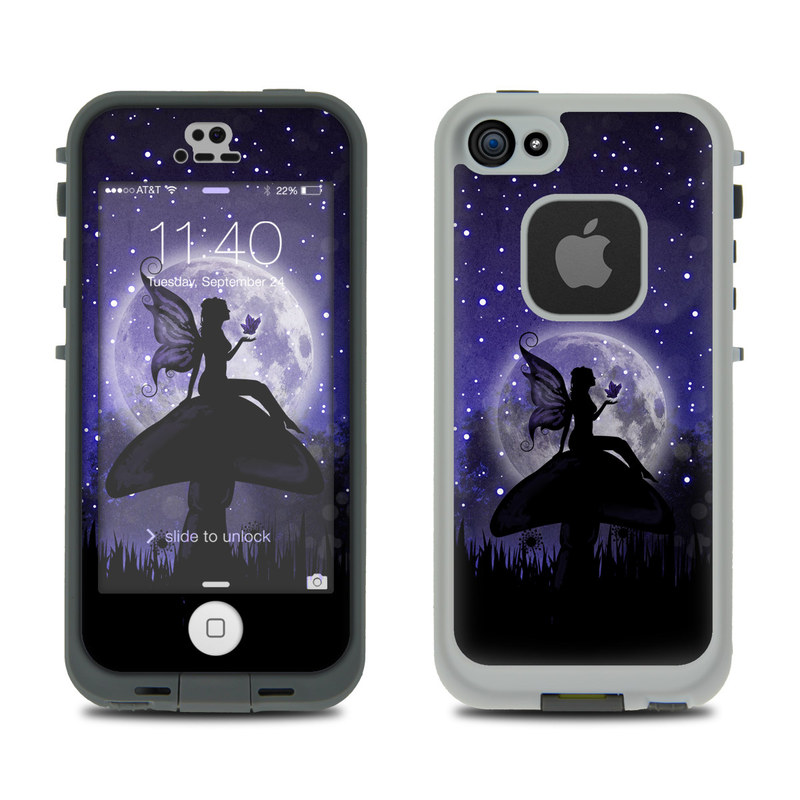 Moonlit Fairy LifeProof iPhone SE, 5s fre Skin