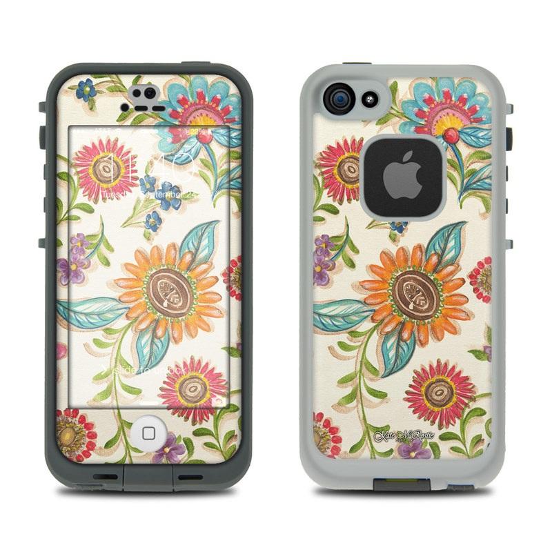 Olivia's Garden LifeProof iPhone SE, 5s fre Skin