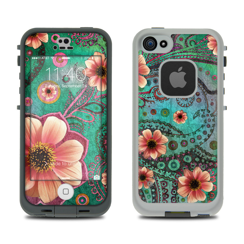 Paisley Paradise LifeProof iPhone SE, 5s fre Case Skin