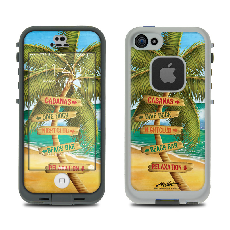 Palm Signs LifeProof iPhone SE, 5s fre Case Skin