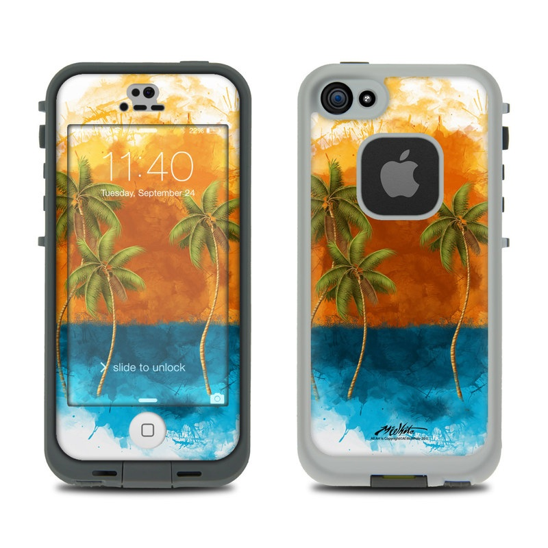 Palm Trio LifeProof iPhone SE, 5s fre Case Skin
