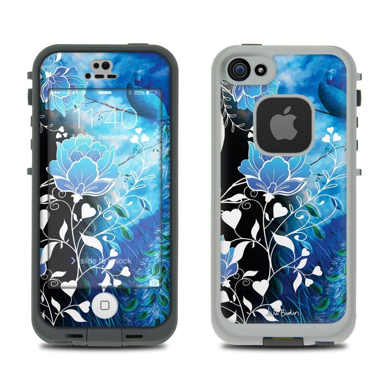 Peacock Sky LifeProof iPhone SE, 5s fre Skin