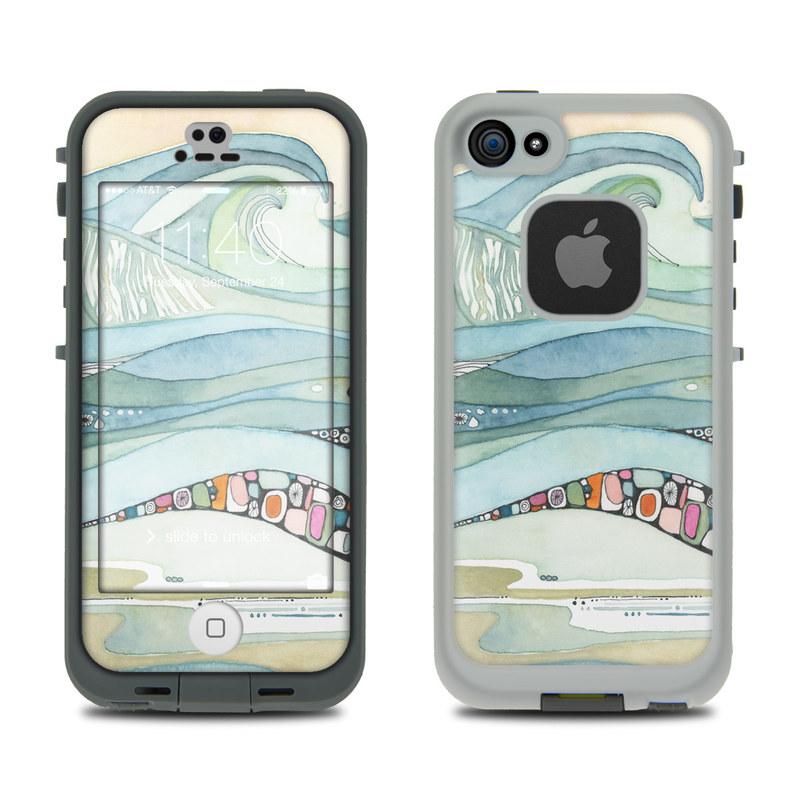 Sea of Love LifeProof iPhone SE, 5s fre Skin