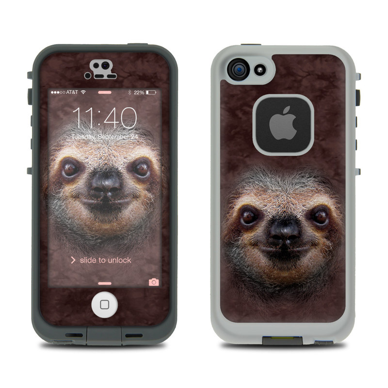 Sloth LifeProof iPhone SE, 5s fre Skin
