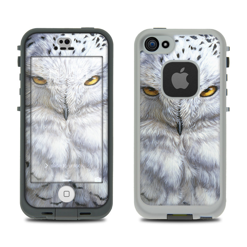 Snowy Owl LifeProof iPhone SE, 5s fre Case Skin