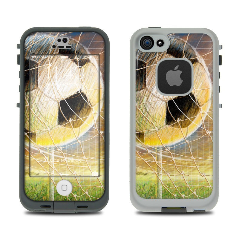 Soccer LifeProof iPhone SE, 5s fre Case Skin