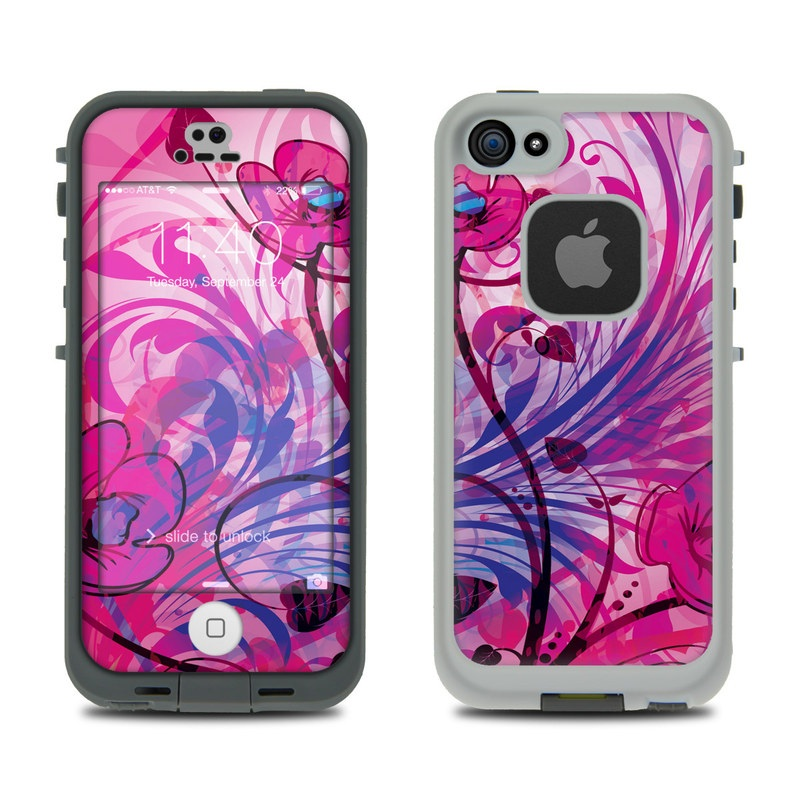 Spring Breeze LifeProof iPhone SE, 5s fre Skin