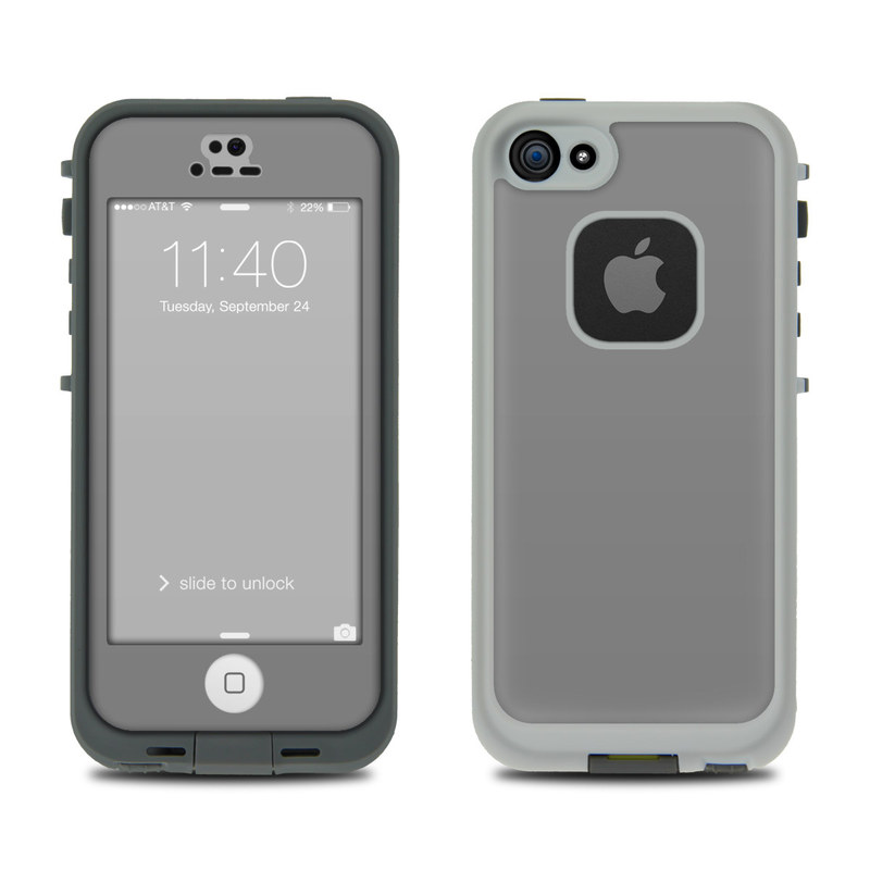Solid State Grey LifeProof iPhone SE, 5s fre Case Skin