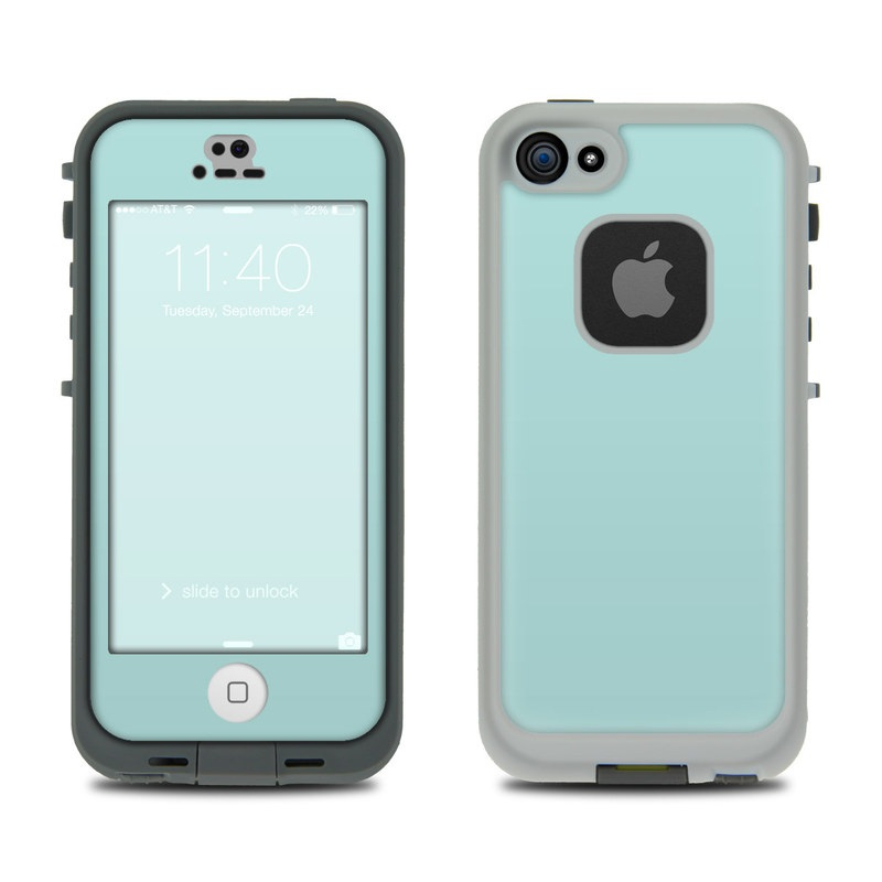 Solid State Mint LifeProof iPhone SE, 5s fre Case Skin