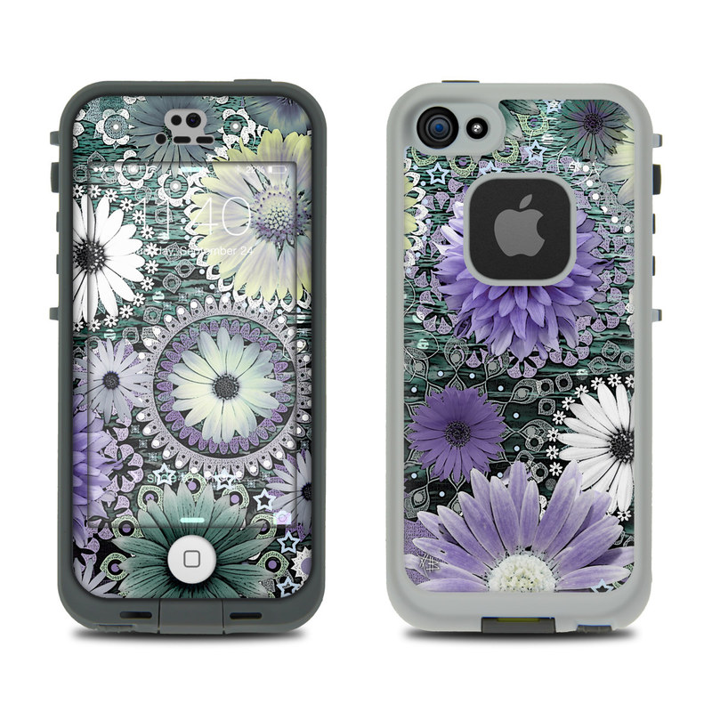 Tidal Bloom LifeProof iPhone SE, 5s fre Case Skin