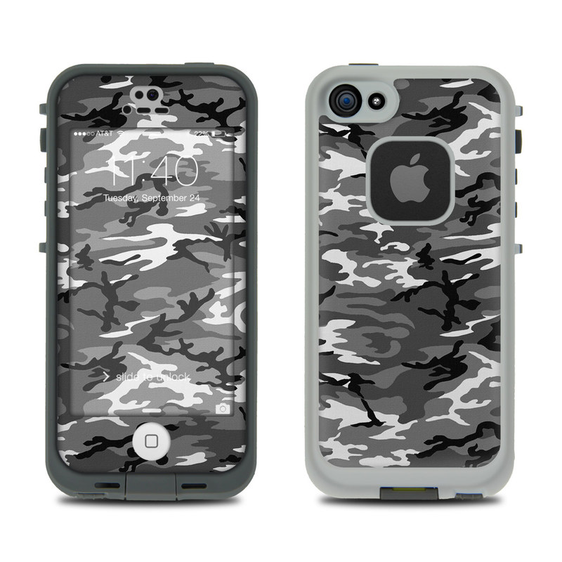 Urban Camo LifeProof iPhone SE, 5s fre Case Skin