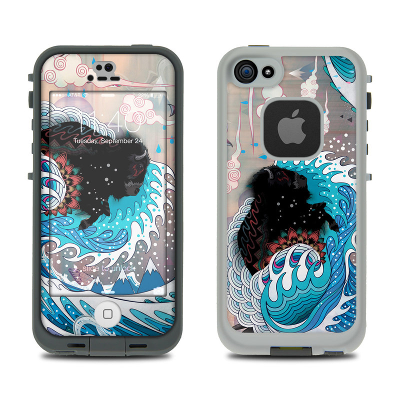 Unstoppabull LifeProof iPhone SE, 5s fre Skin