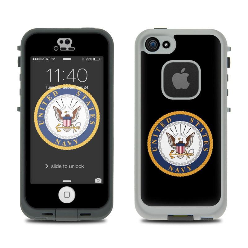 USN Emblem LifeProof iPhone SE, 5s fre Case Skin