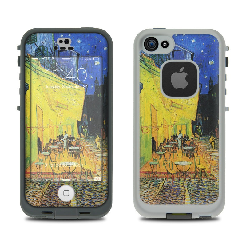 Cafe Terrace At Night LifeProof iPhone SE, 5s fre Case Skin