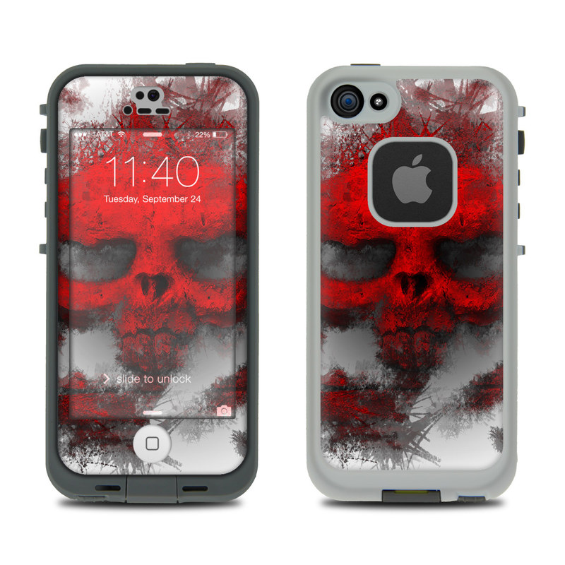 War Light LifeProof iPhone SE, 5s fre Skin