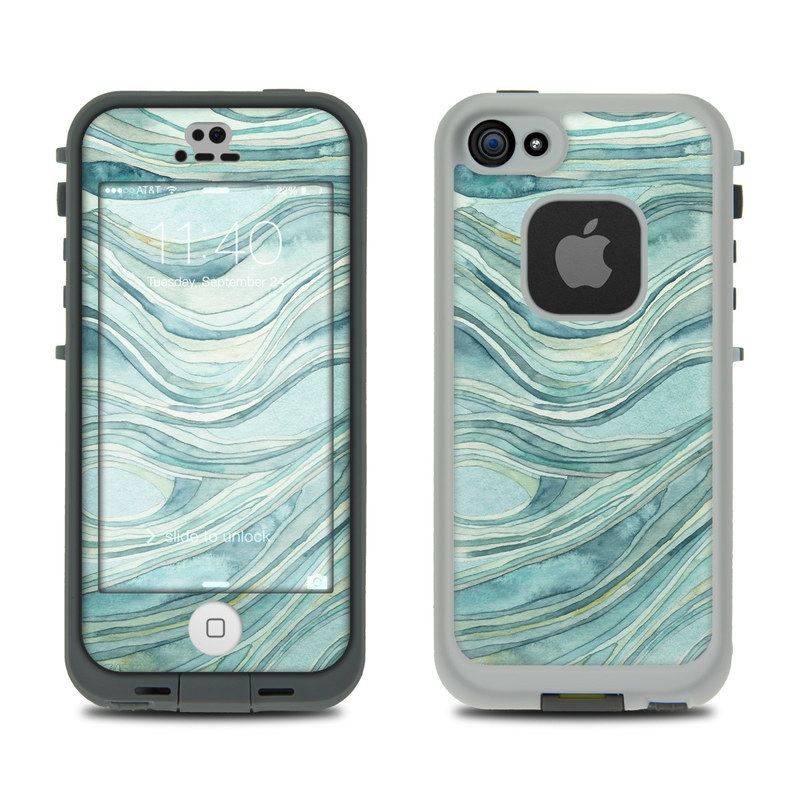 Waves LifeProof iPhone SE, 5s fre Case Skin