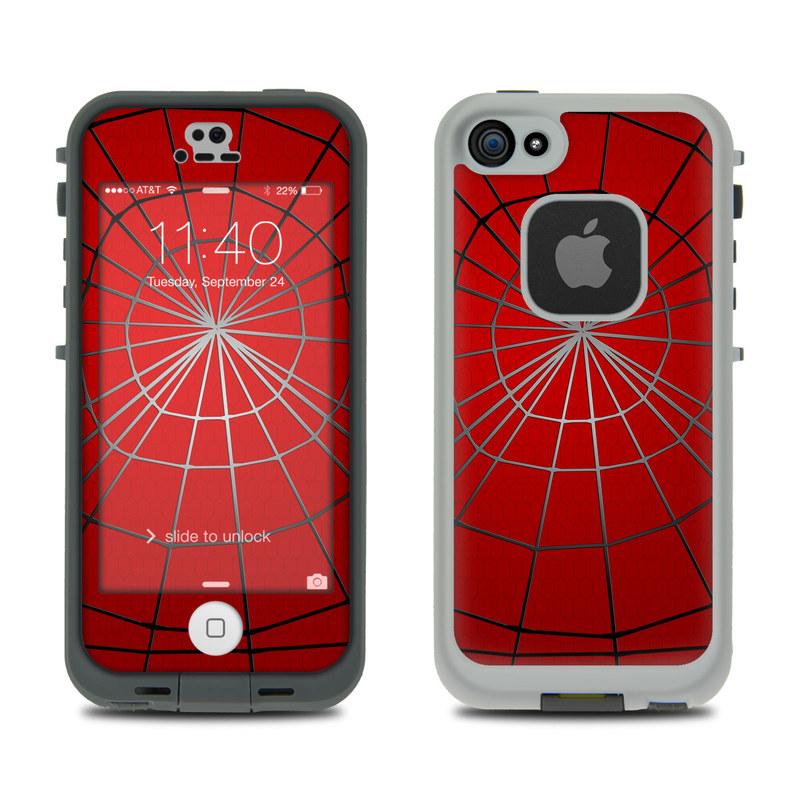 Webslinger LifeProof iPhone SE, 5s fre Skin