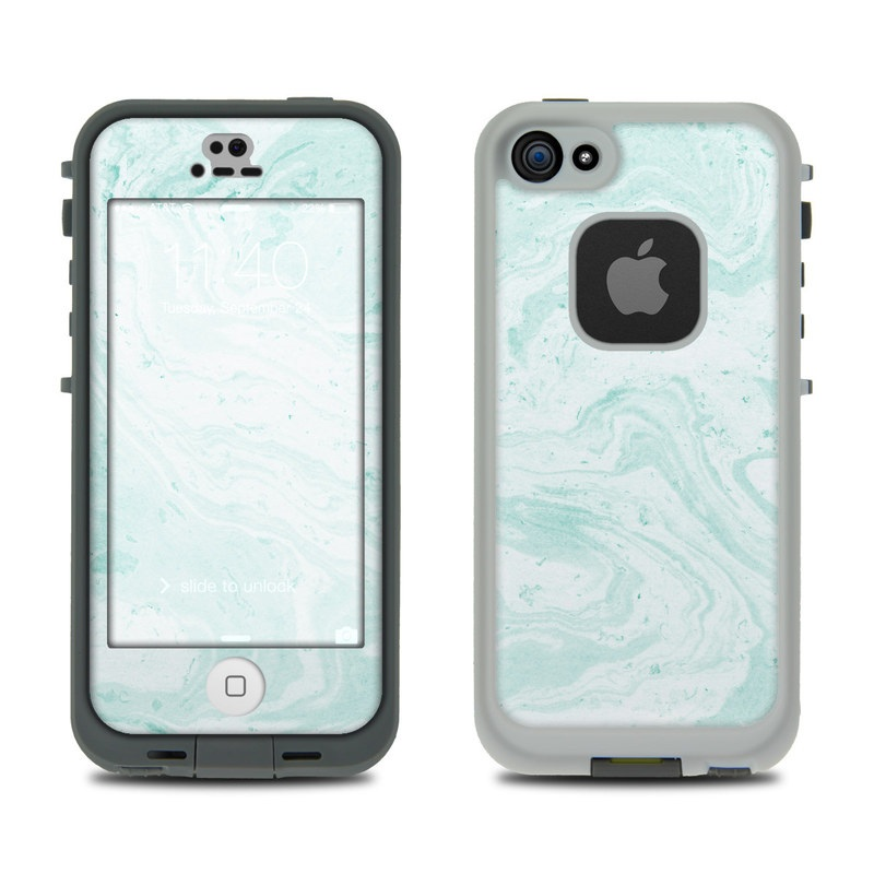Winter Green Marble LifeProof iPhone SE, 5s fre Case Skin