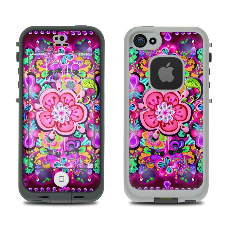 Woodstock LifeProof iPhone SE, 5s fre Skin