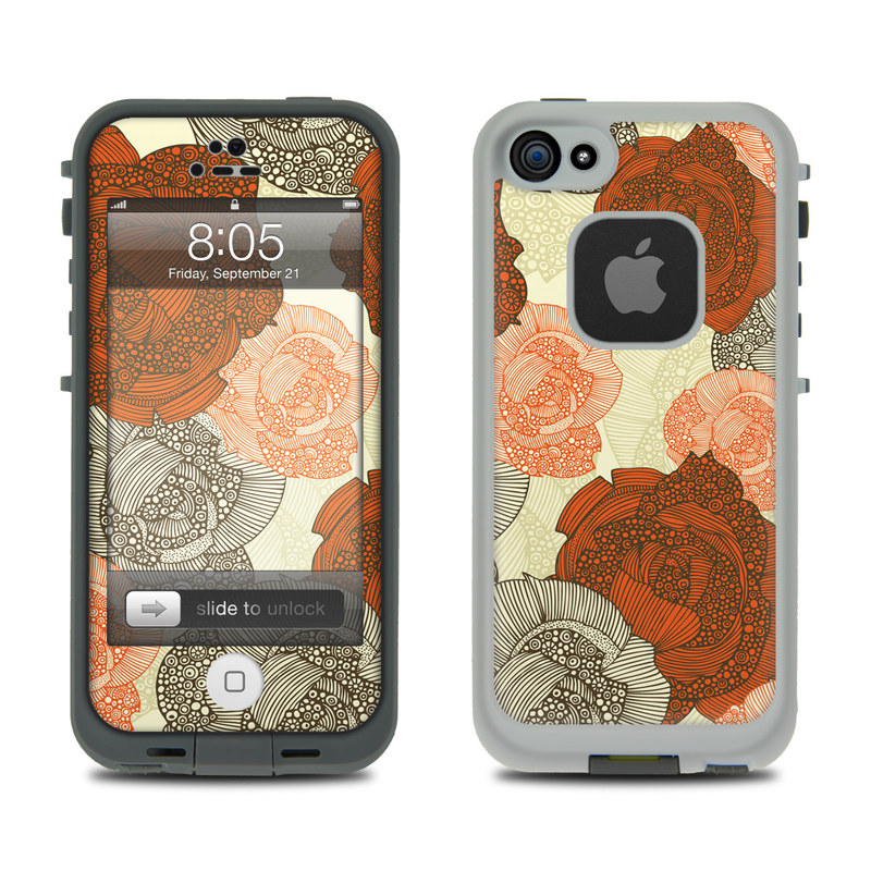 Roses LifeProof iPhone 5 Skin