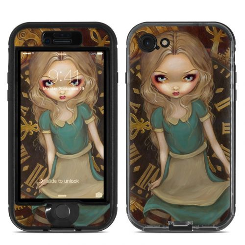 Alice Clockwork LifeProof iPhone 7 nuud Case Skin