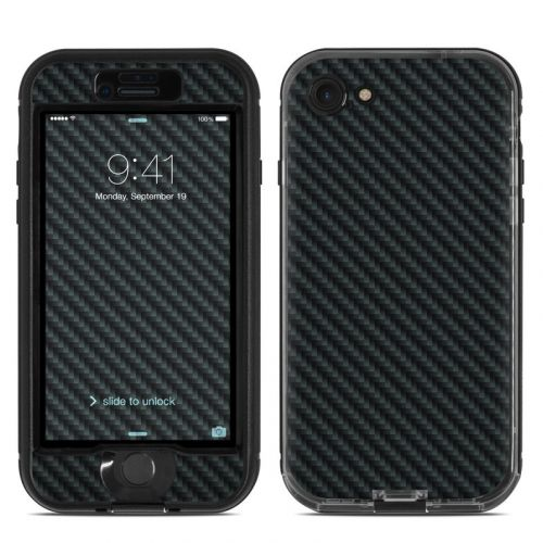 Carbon LifeProof iPhone 8 nuud Case Skin