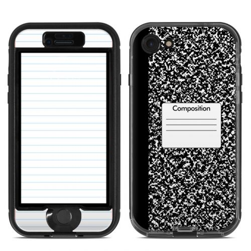 Composition Notebook LifeProof iPhone 7 nuud Skin