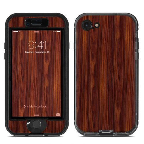 Dark Rosewood LifeProof iPhone 7 nuud Skin
