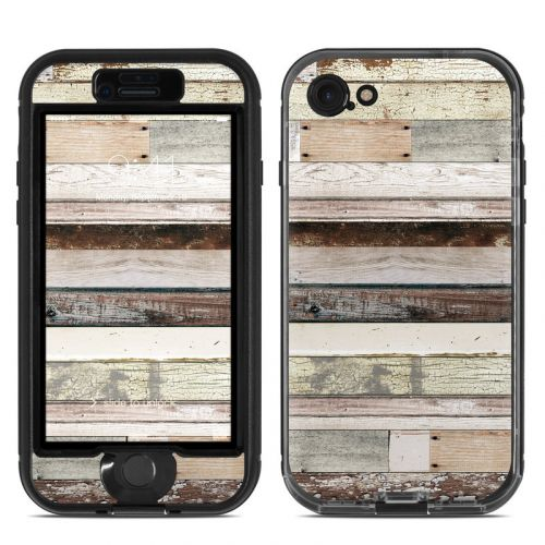 Eclectic Wood LifeProof iPhone 7 nuud Skin