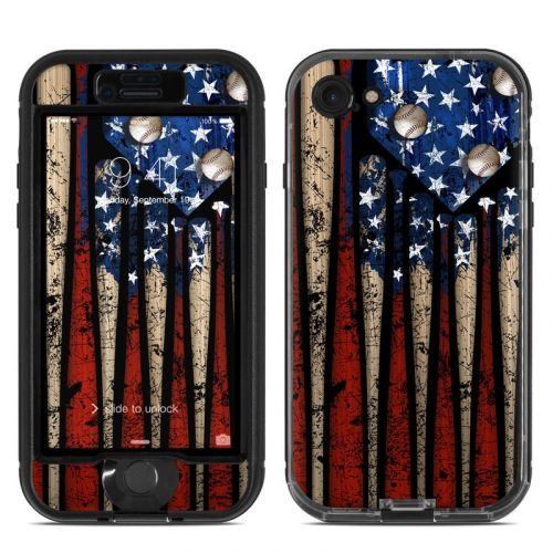 Old Glory LifeProof iPhone 7 nuud Skin