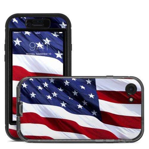 Patriotic LifeProof iPhone 7 nuud Skin