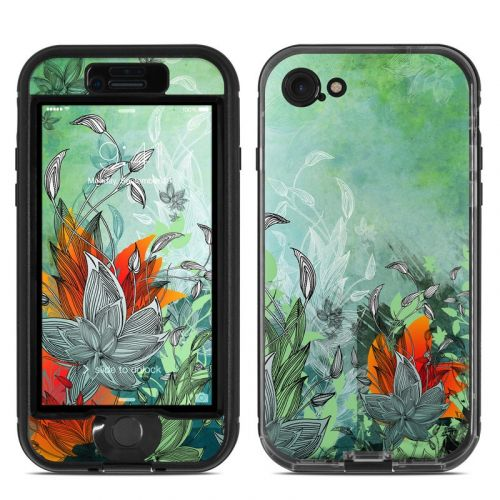 Sea Flora LifeProof iPhone 7 nuud Case Skin
