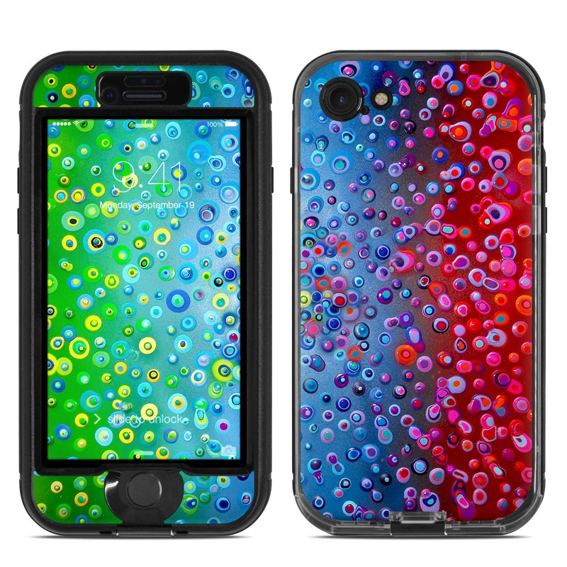Bubblicious LifeProof iPhone 7 nuud Case Skin