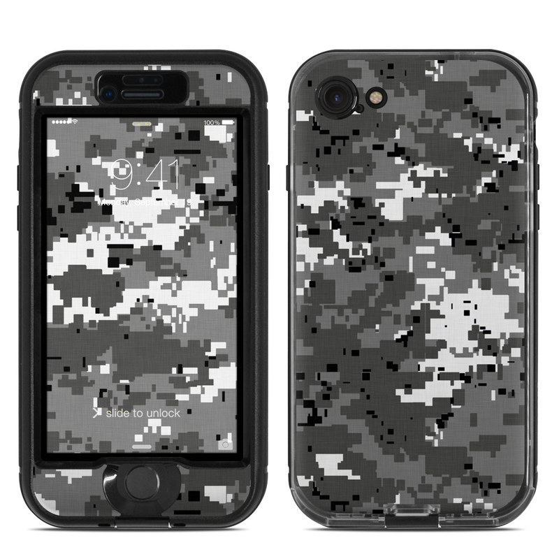 Digital Urban Camo LifeProof iPhone 8 nuud Case Skin