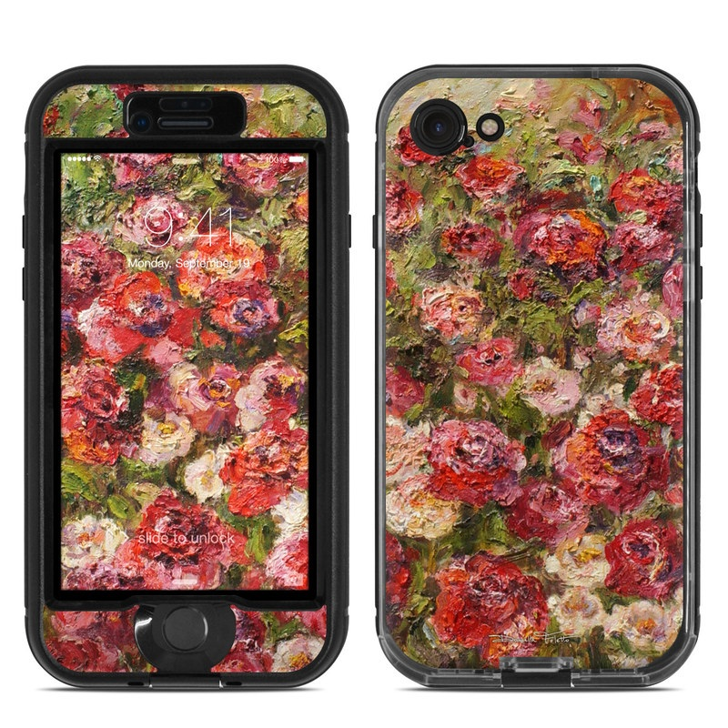 Fleurs Sauvages LifeProof iPhone 8 nuud Case Skin