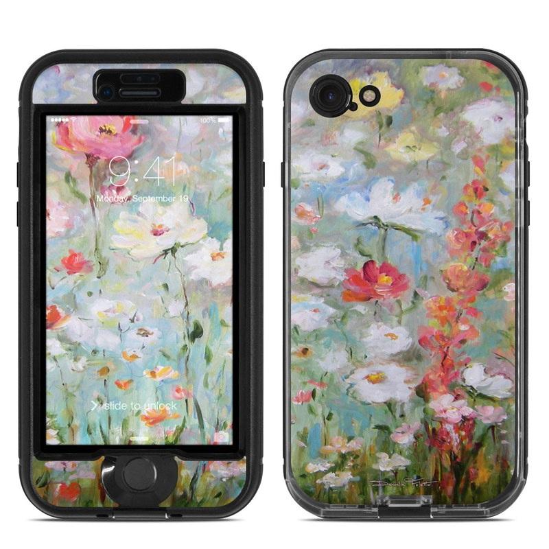 Flower Blooms LifeProof iPhone 8 nuud Case Skin