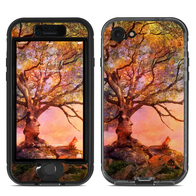 Fox Sunset LifeProof iPhone 8 nuud Case Skin