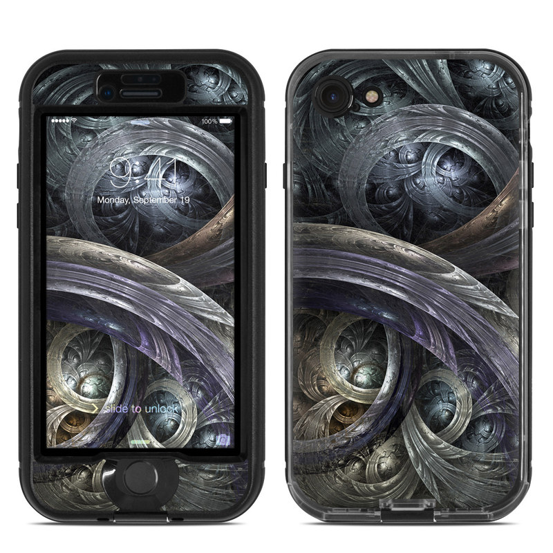 Infinity LifeProof iPhone 8 nuud Case Skin