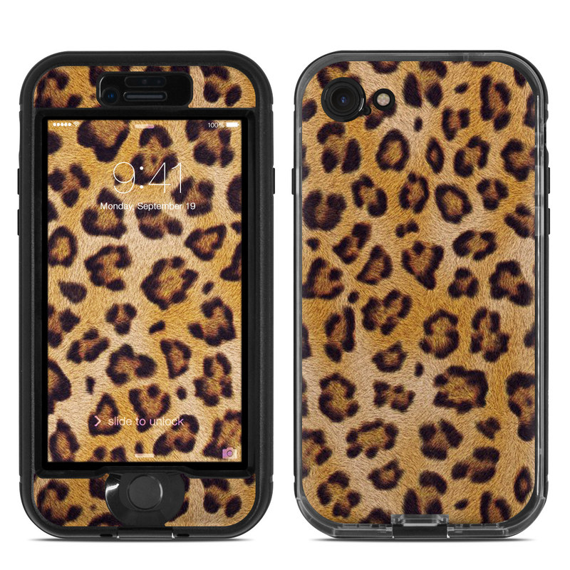 Leopard Spots LifeProof iPhone 8 nuud Case Skin