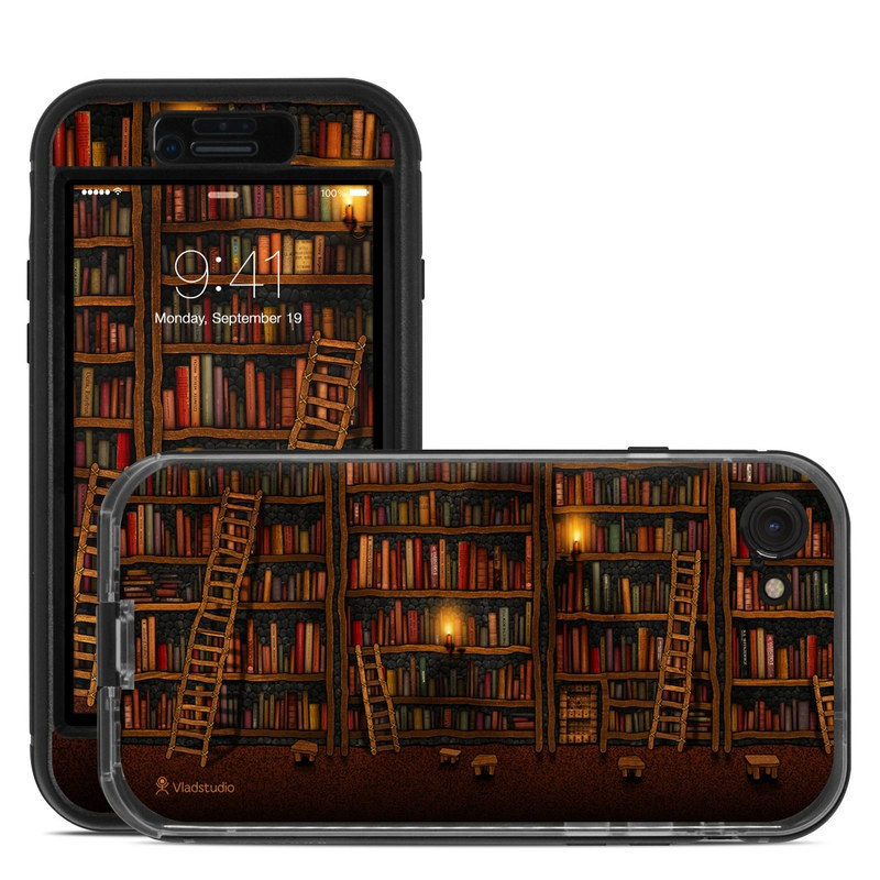 Library LifeProof iPhone 8 nuud Case Skin