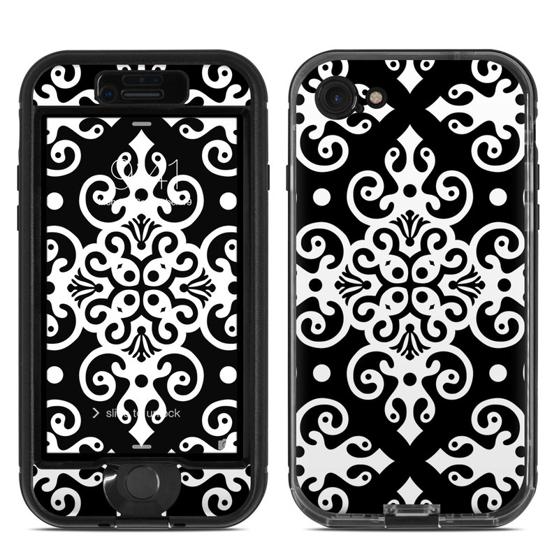 Noir LifeProof iPhone 8 nuud Case Skin