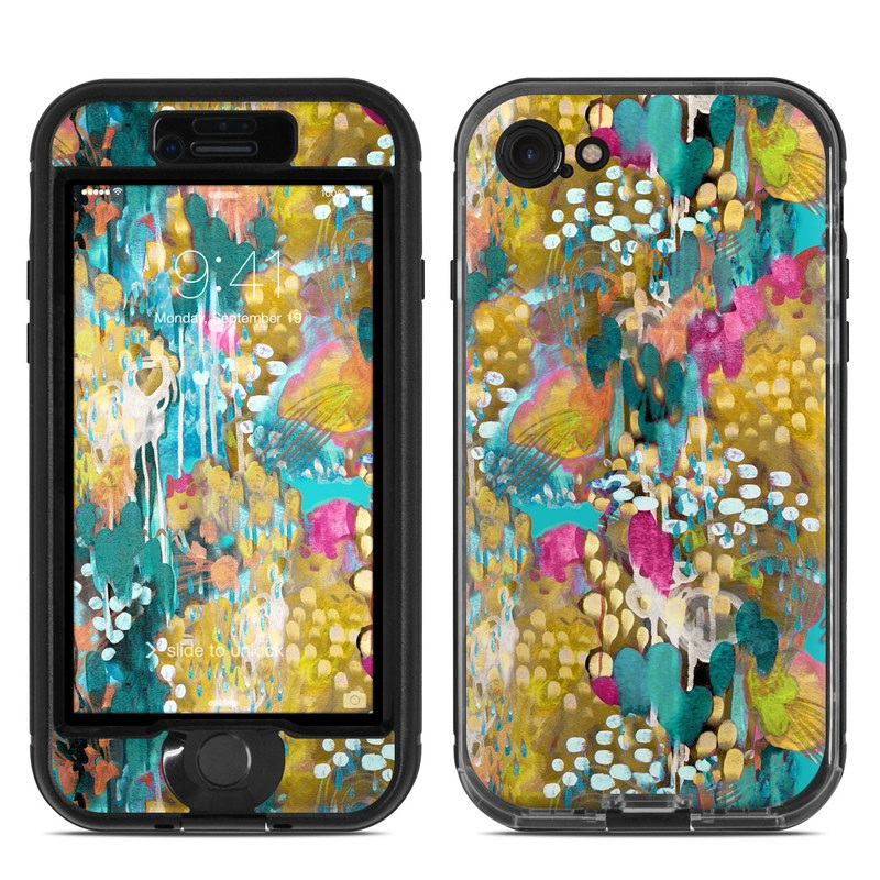 Sweet Talia LifeProof iPhone 8 nuud Case Skin