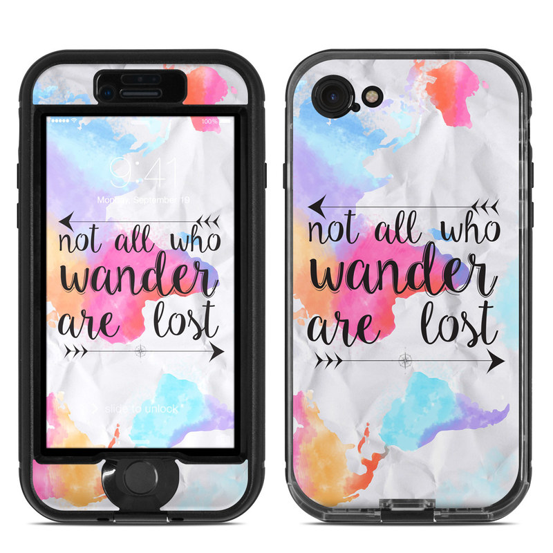 Wander LifeProof iPhone 8 nuud Case Skin