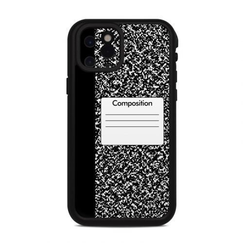 Composition Notebook Lifeproof iPhone 11 Pro fre Case Skin