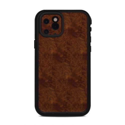 Dark Burlwood Lifeproof iPhone 11 Pro fre Case Skin